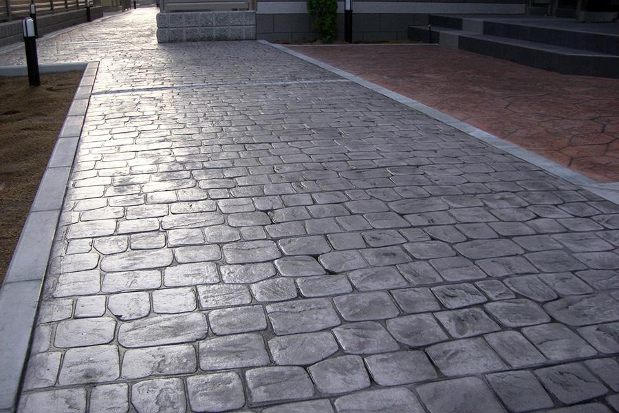 スタンプコンクリート施工事例